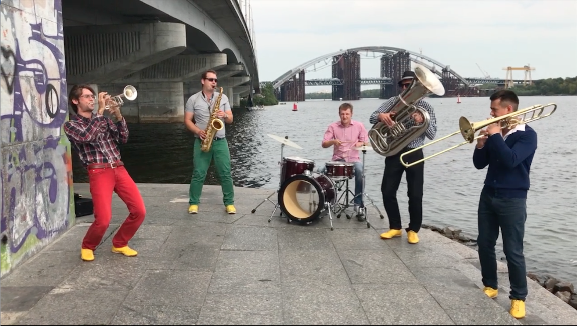 """Brass Band """"Yellow Shoes"""""""